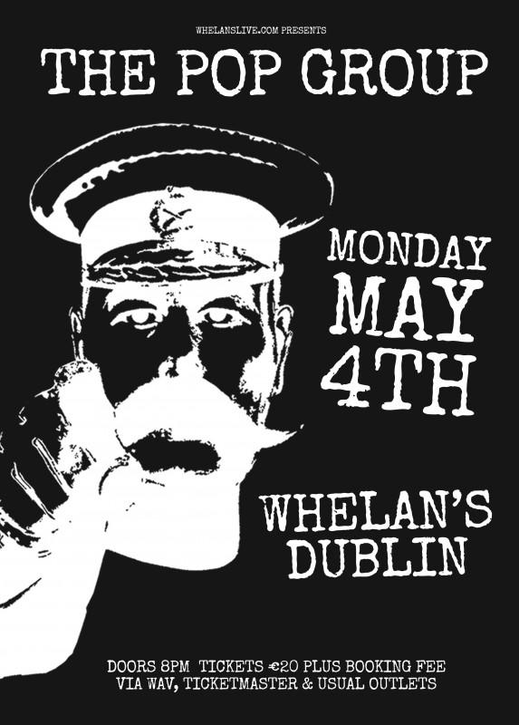 Pop Group Dublin poster