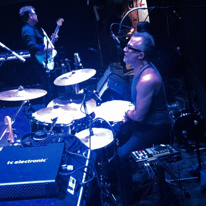 Gareth Sager & Bruce Smith at Soundcheck, Bowery Ballroom, 17/03/2015 by Chiara Meattelli